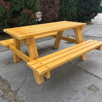 Kanadai asztal - pad