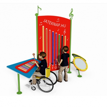 Hangállomás – tubafon, xilofon, dob