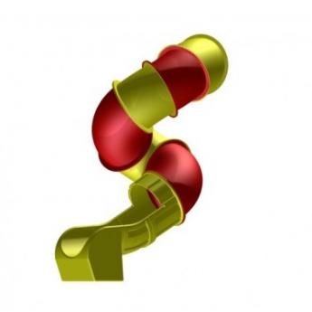 Cső formájú SPIRÁL csúszda - különböző hosszban