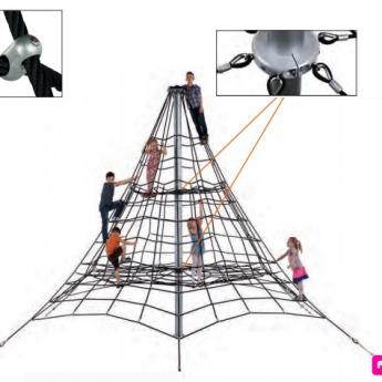 Piramis kötélmászóka 2