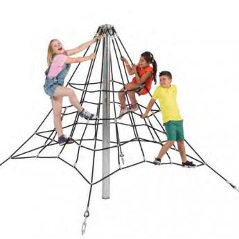 Piramis kötélmászóka 6