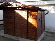Kerti faház - tároló