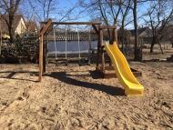 Alap játszótér homokozóval