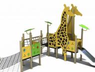 Zsiráf kombinált játszóvár