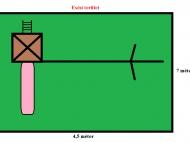 Kis játszótér nádtetővel és egy 2x2 es homokozóval