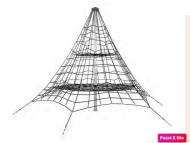 Piramis kötélmászóka 5,5m