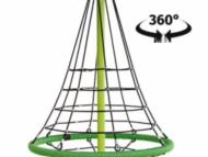 360 fokban forgó kötél gúla