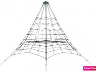 Piramis kötélmászóka 3,5m